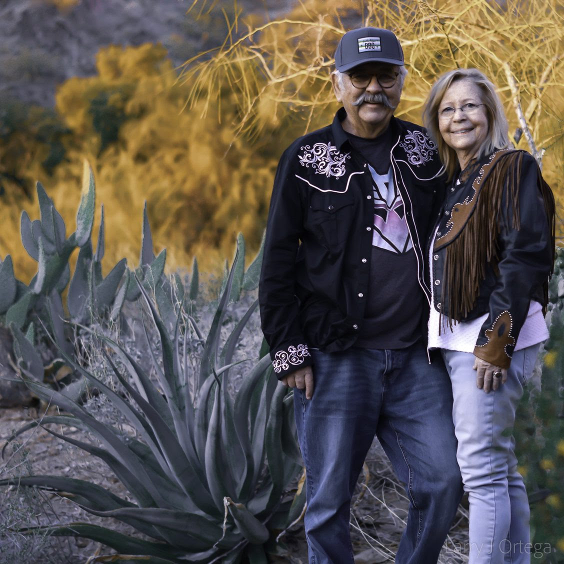 Larry and Sandra Ortega
