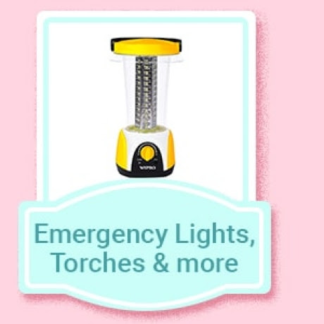Emergency Lights, Torches & more