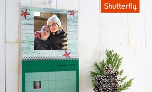 Shutterfly – 59% Off a Custom Wall Calendar