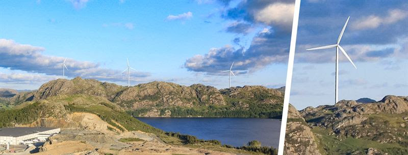 PEIKKO DELIVERS ROCK FOUNDATIONS TO TINDAFJELLET WIND PARK IN SOUTHERN NORWAY