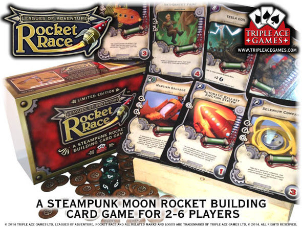 Rocket Race limited edition Expo 2014
