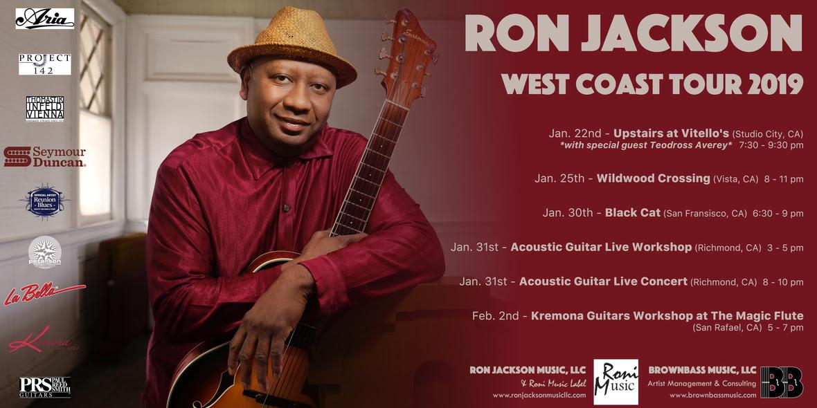 Ron Jackson West Coast Tour 2