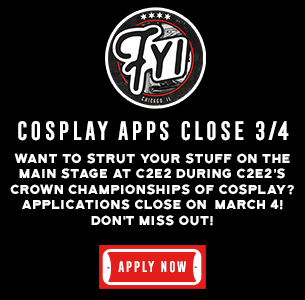 Cosplay apps close 3/4