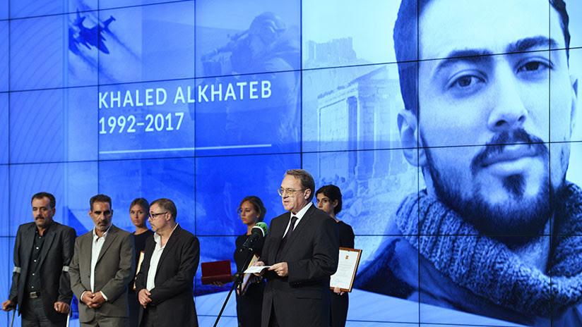 RT entrega los premios Khaled Alkhateb Memorial Awards en memoria de su corresponsal sirio fallecido