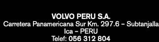Volvo Perú