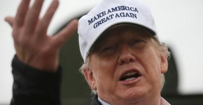 El presidente de Estados Unidos, Donald Trump, durante una visita a la frontera con México. / REUTERS - LEAH MILLIS