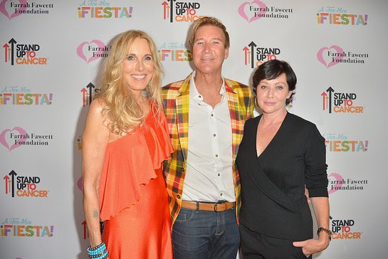 Alana Stewart, Dr Piro and Shannen Doherty