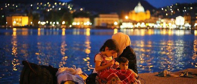 Plus de 15 000 personnes s'entassent sur Lesbos, soit environ un cinquième de la population de l'île.