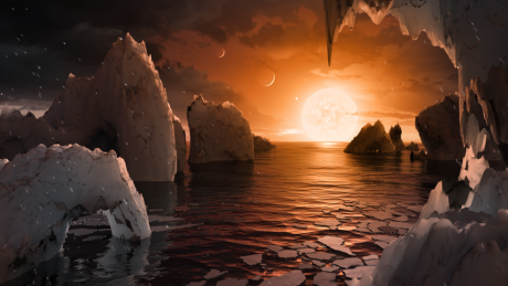TRAPPIST-1f - Photo by NASA