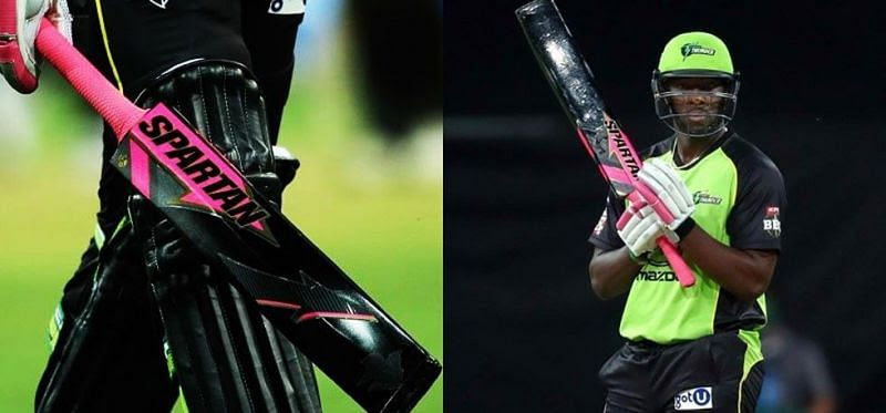 The painted cricket bats started a new trend during the Big Bash League