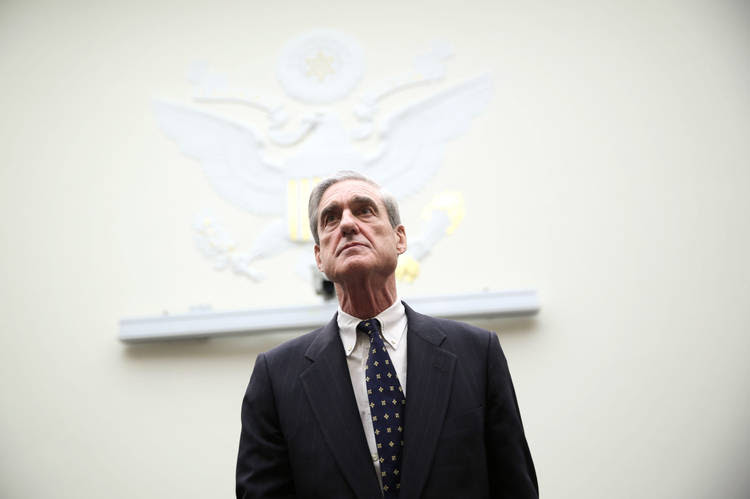 Robert Mueller arrives at a hearing before the House Judiciary Committee, (Alex Wong/Getty Images)