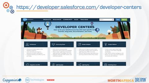 Developer centers