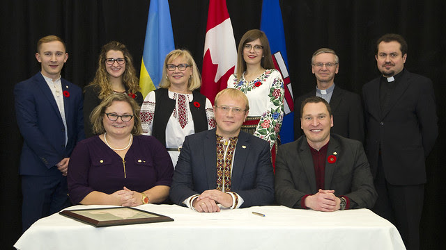 Legislation to Recognize Alberta's Ukrainian heritage