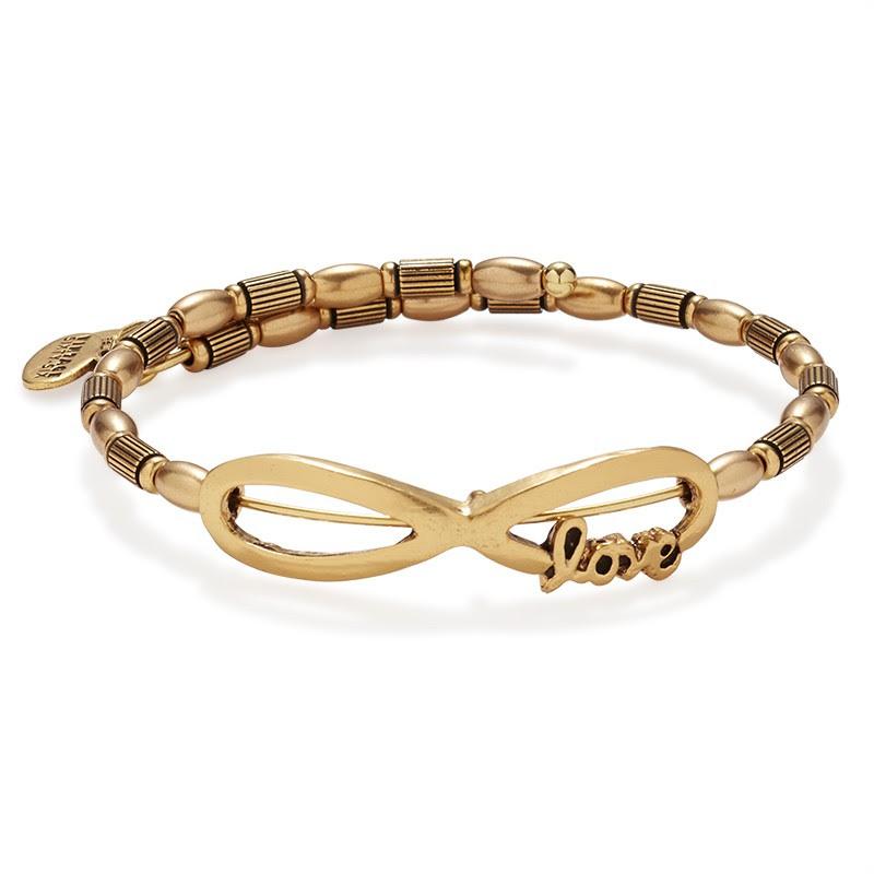 Infinite Love Bracelet in Gold