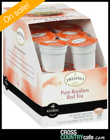 Twinings Pure Red Rooibos K-cup tea