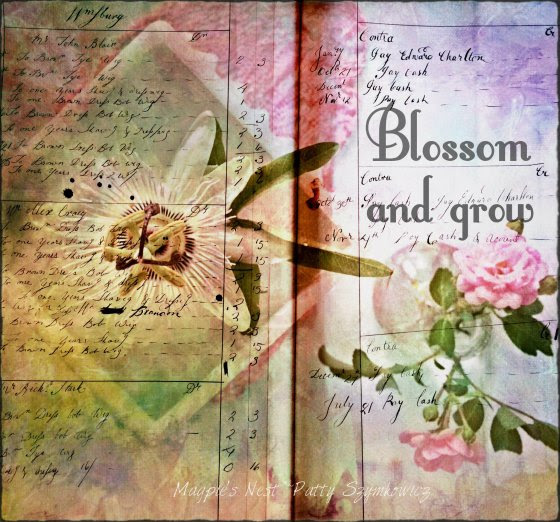 Magpie's Nest Patty Szymkowicz Blossom and Grow collage