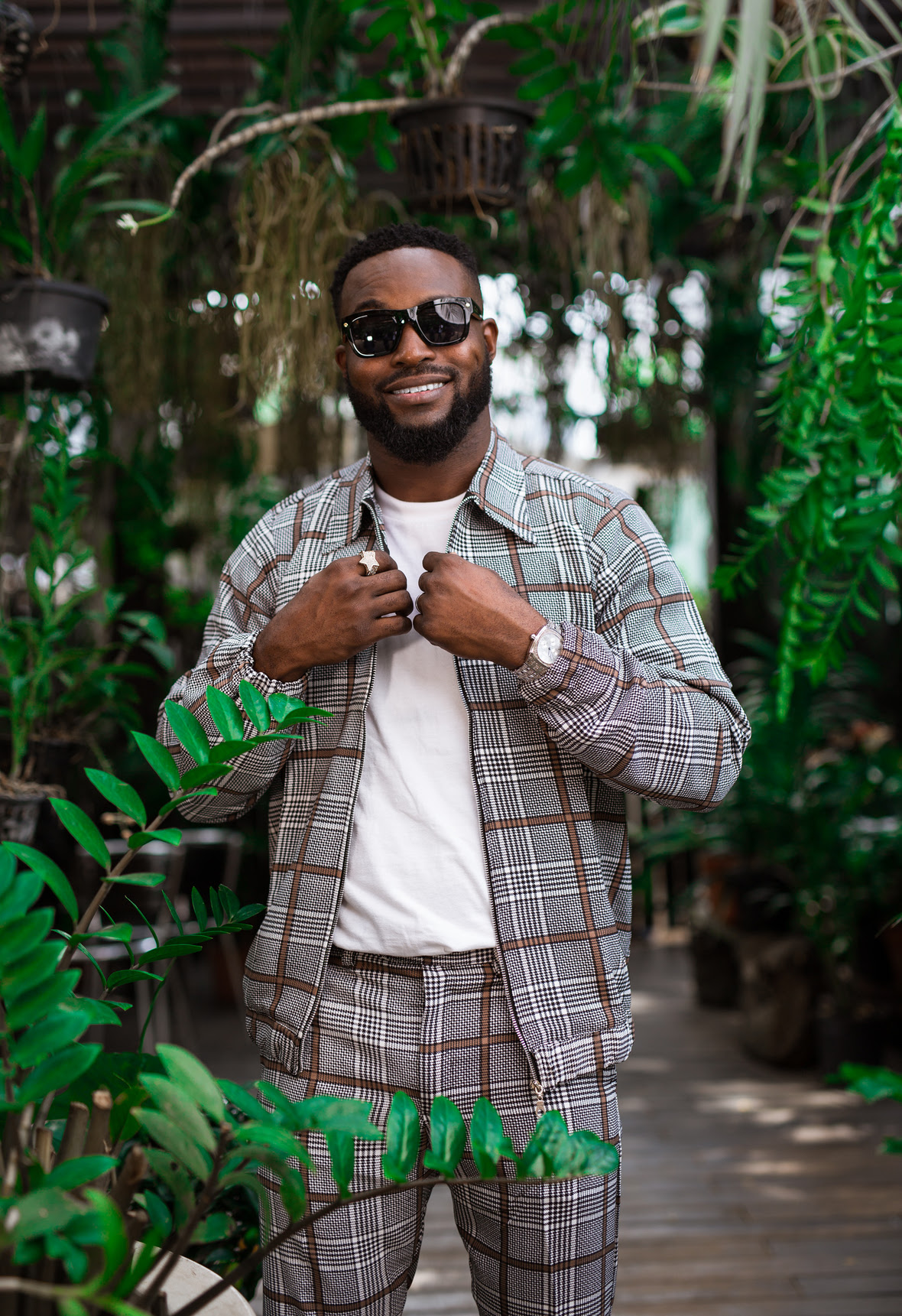DJ Neptune releases promo pictures and reveals artwork for his new single with Davido