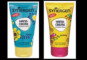 Synergen Handcreme yummy und flower
