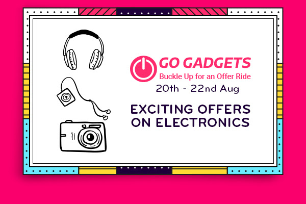 Exciting offers on Electronics