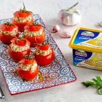 Бакинские помидоры, фаршированные острым сыром