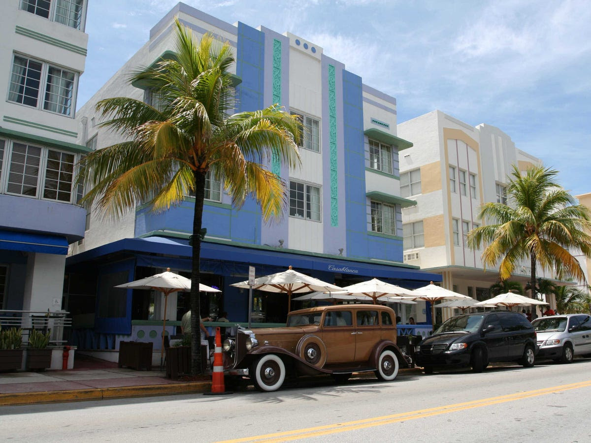 During the daytime, you can soak up Miami's culture.