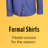 Formal Shirts - because this style always rocks