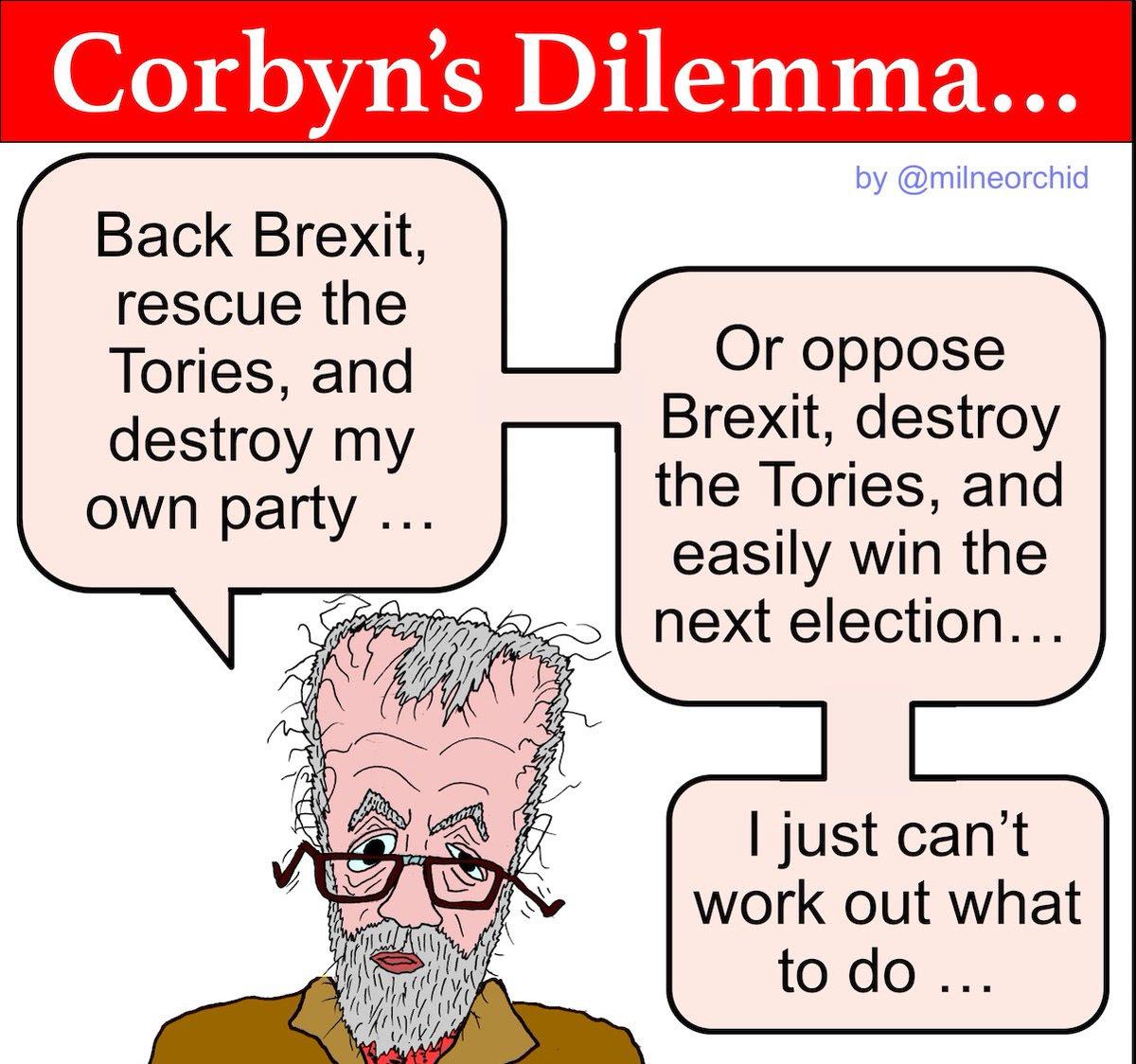 Brexit Corbyn cartoon