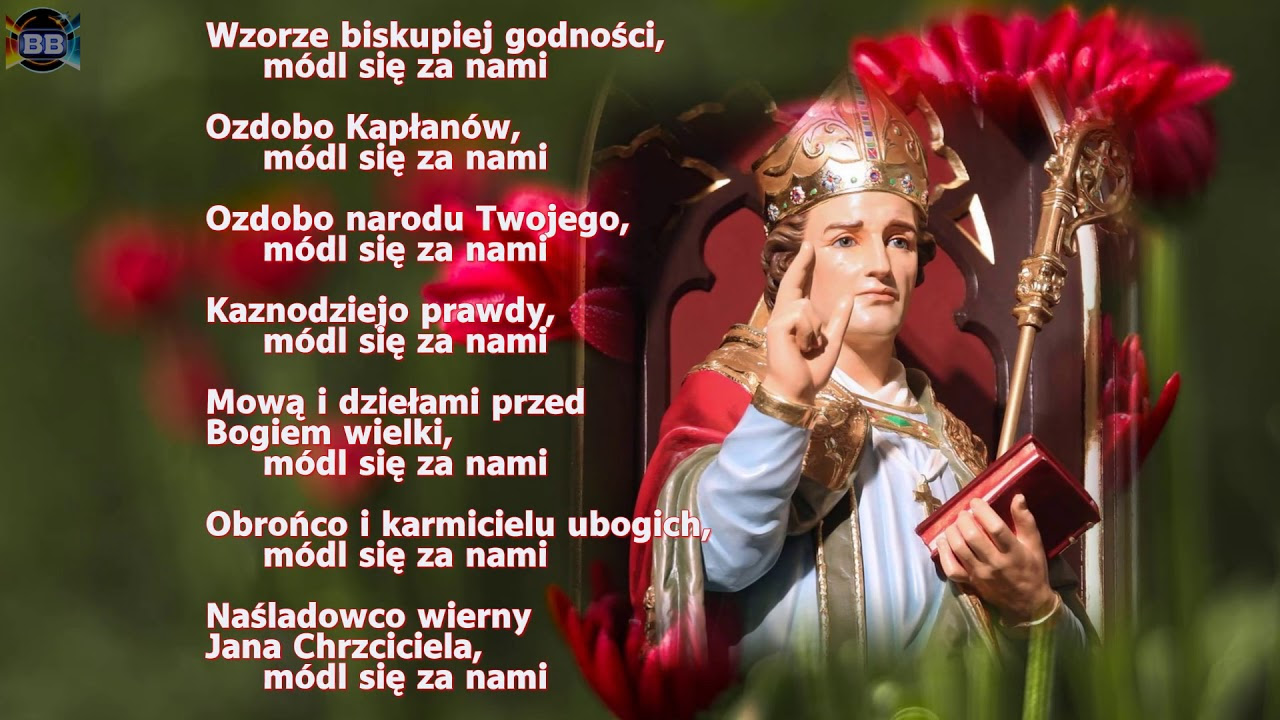 Znalezione obrazy dla zapytania litania do św. stanisłąwa biskupa