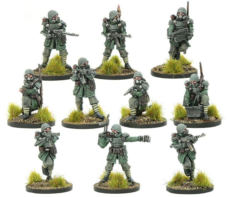 New Konflikt '47 Italian Legio Aquila Squad