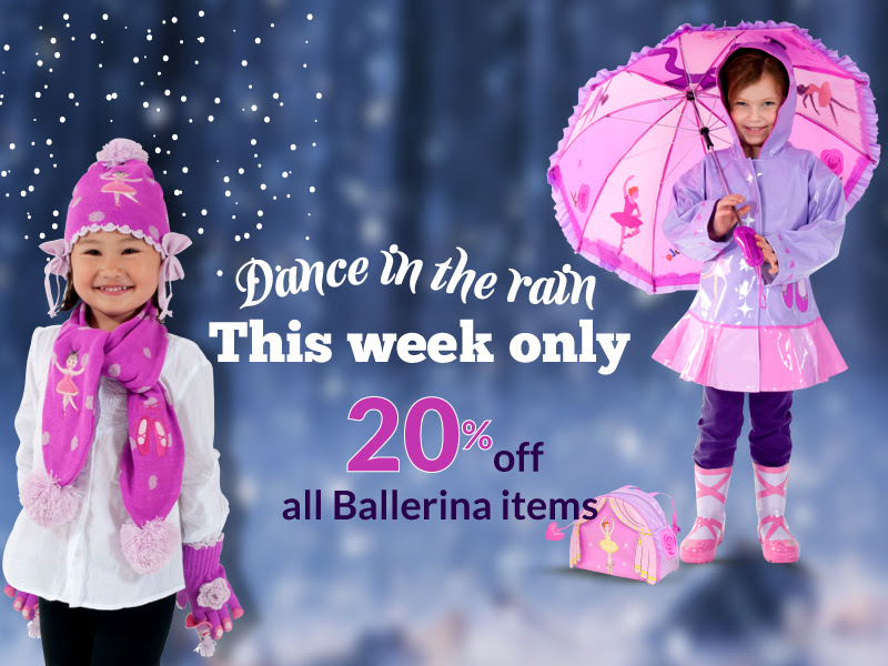 Dance in the rain-- 20% off Ki...