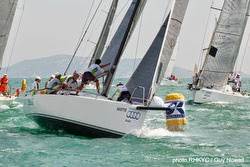 J/111 sailing Hong Kong