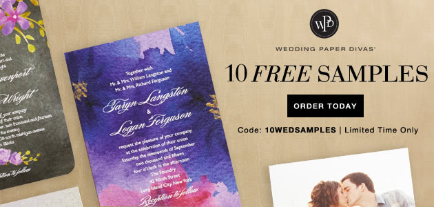 FREE Stuff from Wedding Paper.
