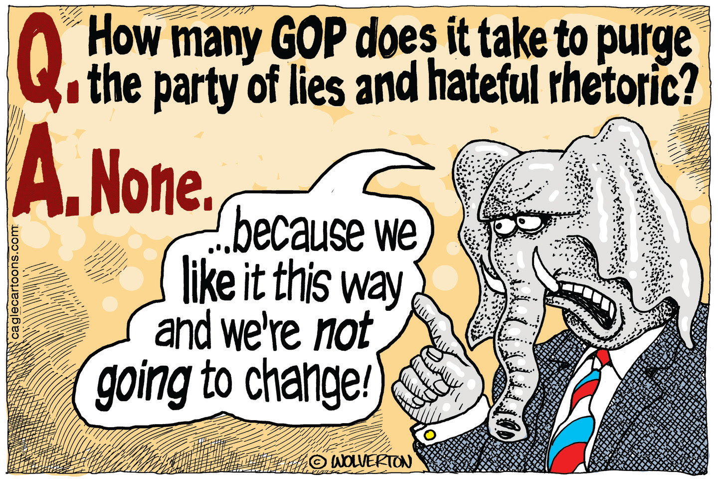 Republicans use racism to divide voters in order to stay in power.