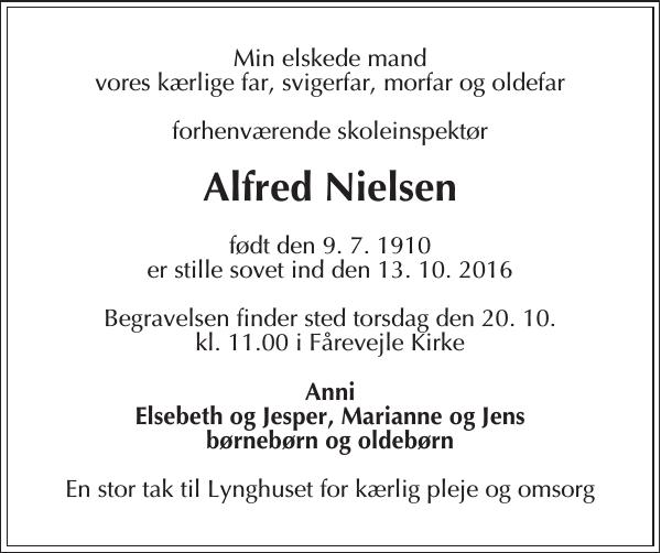 Alfred Nielsen