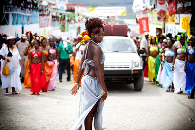 Please enable images to see this image of Carnival in Haiti.