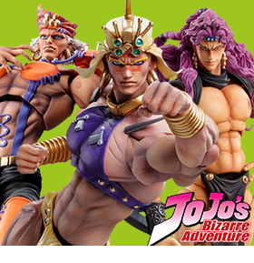JoJo's Bizarre Adventure Super Action Statues