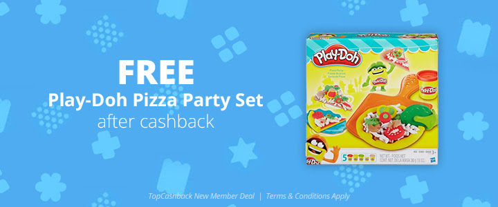 FREE Play-Doh Pizza Party Set.