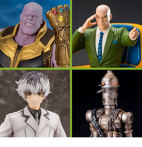 KOTOBUKIYA ARTFX - THANOS, X-MEN, STAR WARS