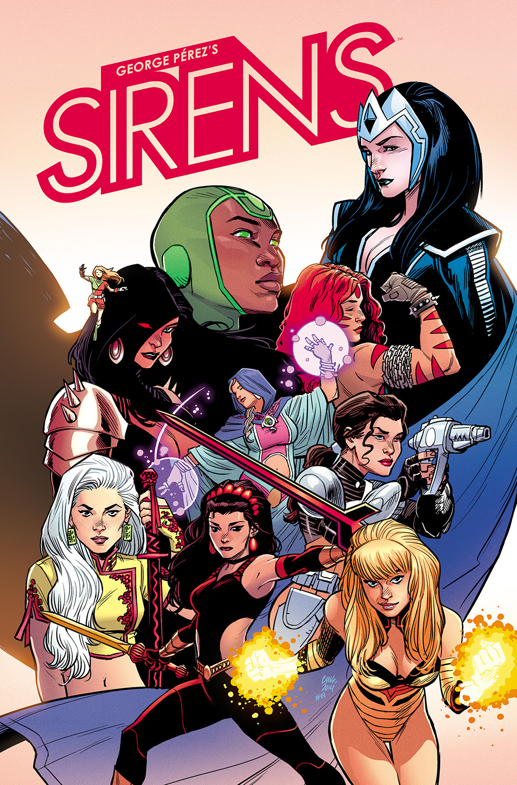 GEORGE PÉREZ'S SIRENS #1 Cover B by Cameron Stewart