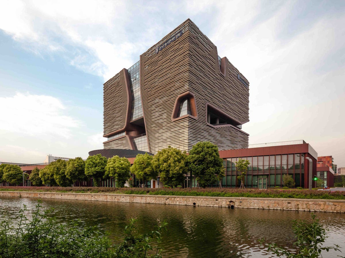Xi'an Jiaotong - Liverpool University Administration and Information Building (Nominated for Best Office And Business Development)