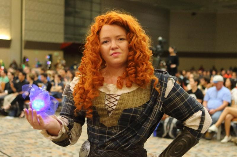 Kathryn Redfield as Merida
