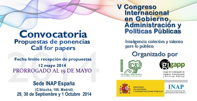 Call for Papers V Congreso #GIGAPP2014