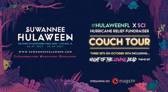 Suwannee Hulaween announces charitable causes around sold-out 2017 eventHLFL17 LiveStream Banner