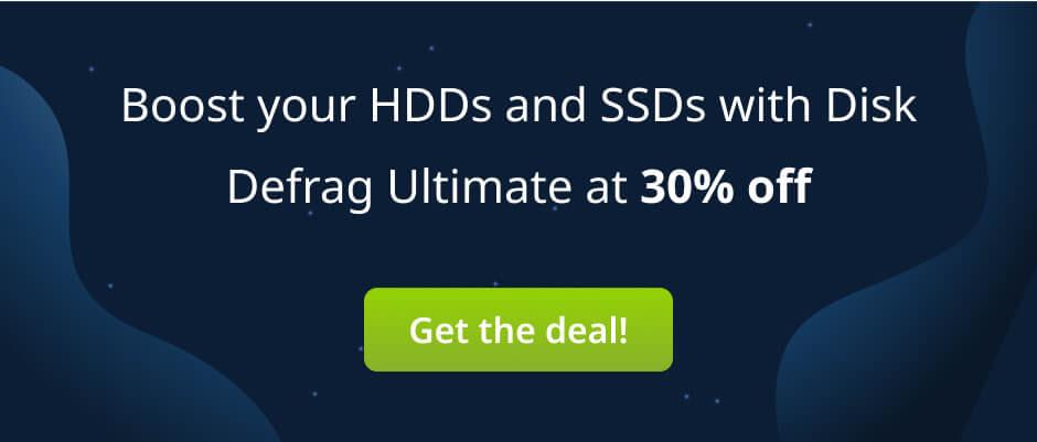 Auslogics Disc Jockey Day Sale: 30% Off on Auslogics Disk Defrag Ultimate
