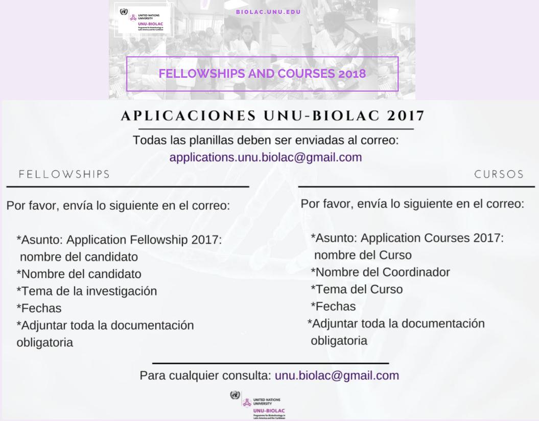 OPORTUNIDADES DE FINANCIAMIENTO, PASANTÍAS, BECAS,  PREMIOS Y MÁS.