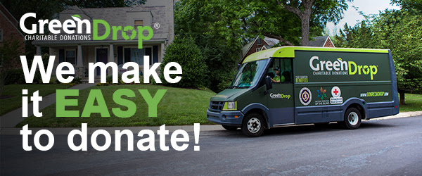 Green Drop - We make it EASY to donate!