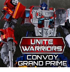 UNITE WARRIORS CONVOY GRAND PRIME