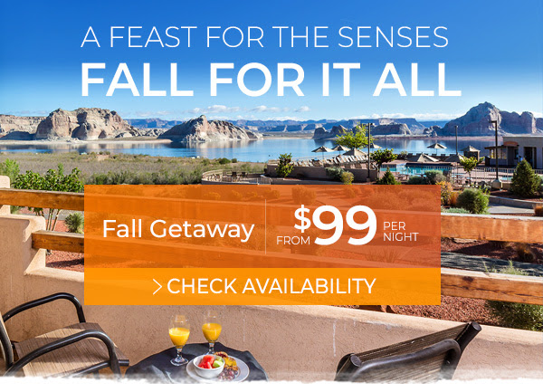 Fall Getaway at Lake Powell from $99 per night