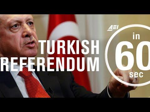 Consequences of the Turkish Referendum (Referandum Turkiye) | IN 60 SECONDS