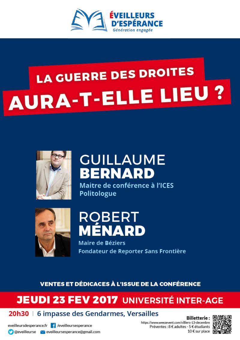 2017-02-28 Ménard & Bernard - Affiche